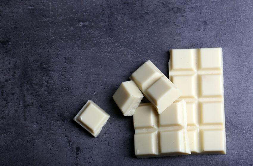 Çikolata Sözlüğü: Beyaz Çikolata