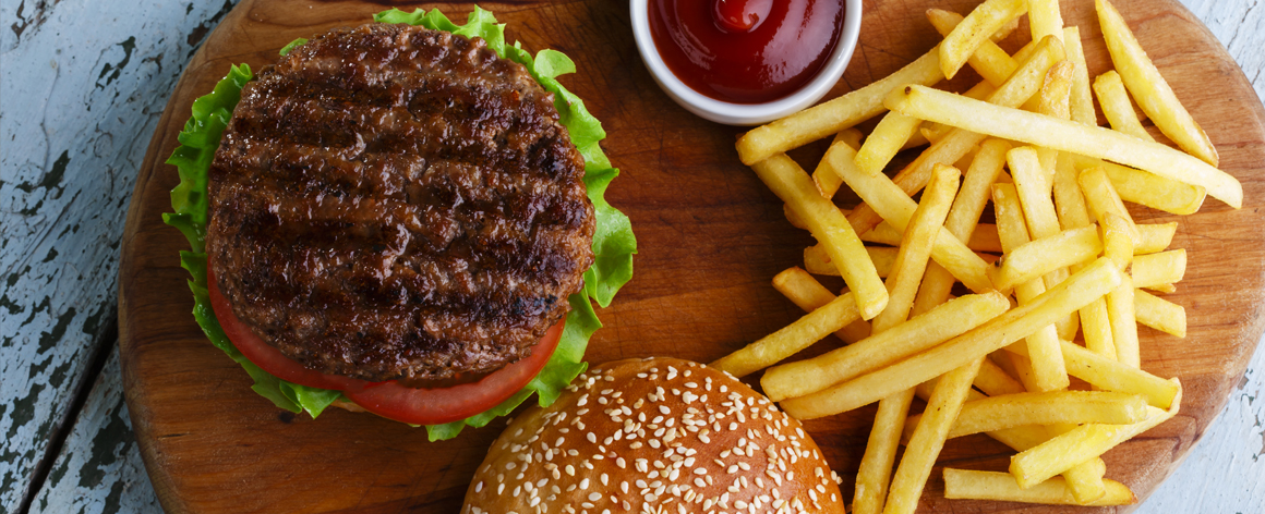 tavada ev yapımı hamburger
