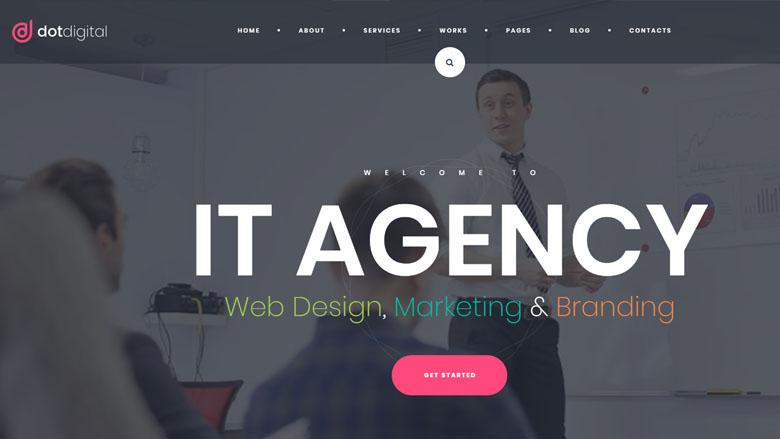 DotDigital – WordPress Web Tasarım Teması