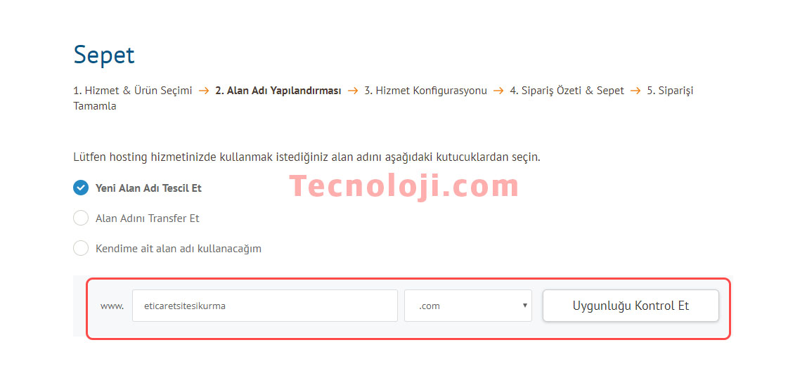 hosting domain alma