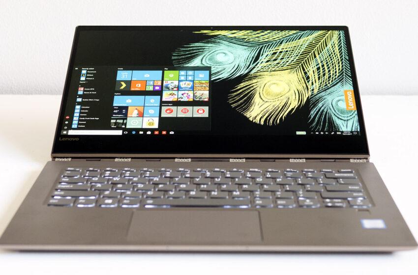 İnce Gövde & Güçlü Donanım: Lenovo Yoga 920