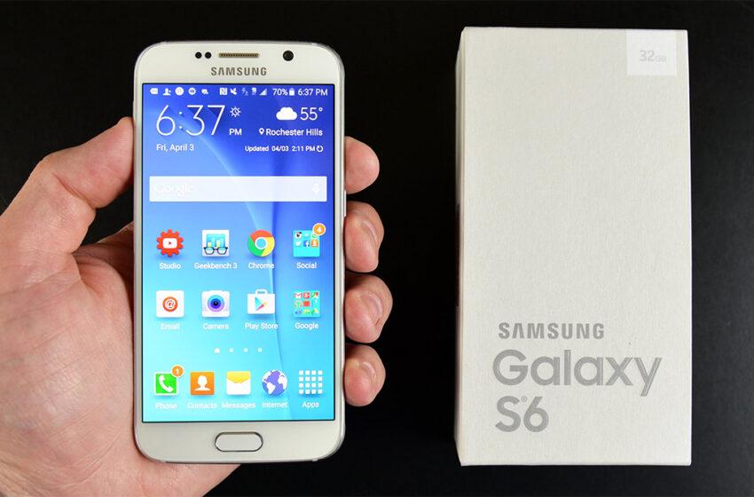 Samsung Galaxy S6 Ekran Görüntüsü Nasıl Alınır?