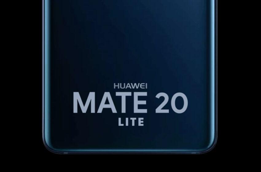 Huawei Mate 20 Lite tasarımı nasıl olacak?