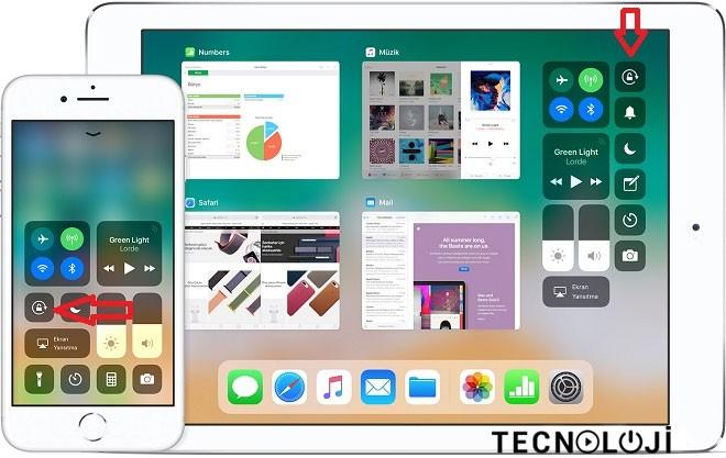 iPhone Ekran Döndürme