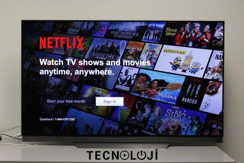 lg tv akış uygulamaları