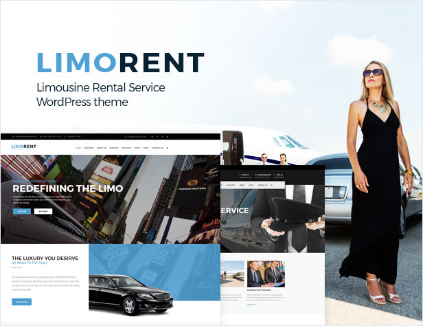 Wordpress Araç Kiralama Temaları - Limo Rent